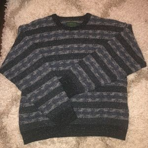 Vintage Clubfellow Chunky Striped Marled Sweater